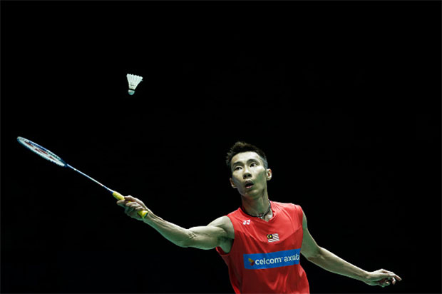 Lee Chong Wei is going strong at the Indonesia Open. (photo: GettyImages)