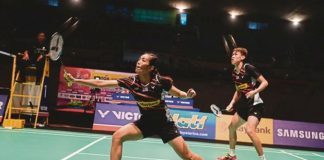 Wish Lai Pei Jing/Tan Kian Meng best of luck in Chinese Taipei Open final. (photo: AFP)