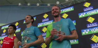 Congratulations to Carsten Mogensen/Mathias Boe for winning the 2016 US Open!