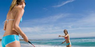 Beach Badminton could potentially spice up the sport.