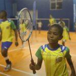 Brazilian children are practicing badminton following the Samba beat. (photo: New York Times)