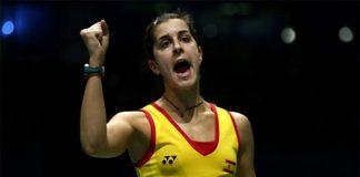 Carolina Marin is eyeing a good finish in Rio. (photo: Getty)