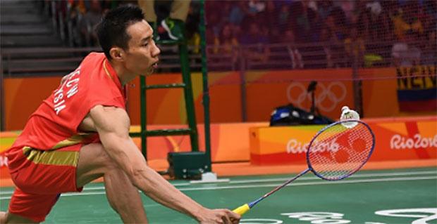 Lee Chong Wei beats Suriname's Surin Opti 21-2, 21-3 in Rio on Thursday. (photo: AFP)