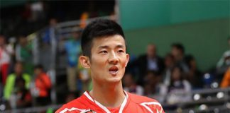 Chen Long has an easy passage to quarter-finals in Rio.