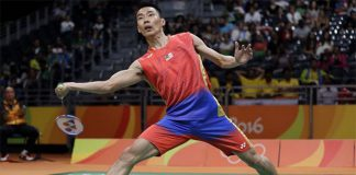 Lee Chong Wei will play his quarterfinal match next Wednesday. (photo: AFP)