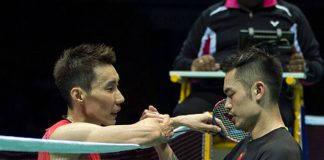 Lee Chong Wei and Lin Dan brace for another epic showdown in the 2016 Olympic semi-finals. (photo: AFP)