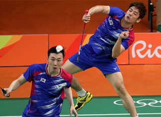 Rio may be Lee Yong-Dae/Yoo Yeon-Seong's last Olympics. (photo: AP)