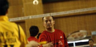 Hendrawan is one of the top men's singles coach in Malaysia.