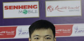 It's a shame that Chinese Taipei Badminton Association has caused unnecessary burden on Wang Tzu-Wei. (photo: Purple League)