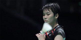 Malaysia's badminton rising star Goh Jin Wei. (photo: AFP)