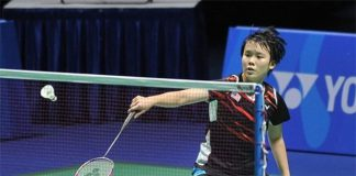 Goh Jin Wei wins a spectacular second round match at the 2016 Indonesian Masters on Thursday.