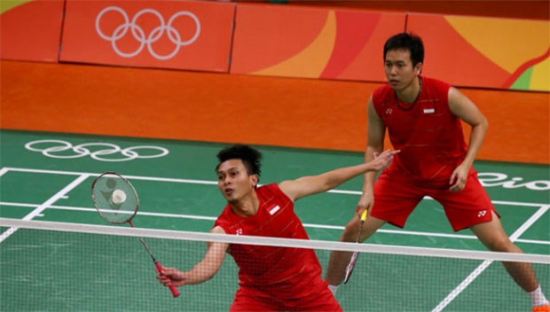Hendra Setiawan/Mohammad Ahsan are one of the formidable men's doubles pairs in the world.