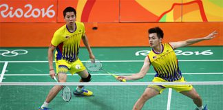 09 23 2016 badminton news goh v shem Goh V Shem/Tan Wee Kiong are out of the 2016 Japan Open. (photo: AFP)wee kiong