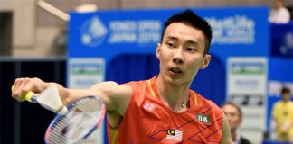 Lee Chong Wei to play Shi Yuqi of China in the 2016 Japan Open quarter-finals. (photo: AFP)