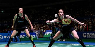 Christinna Pedersen/Kamilla Juhl seek revenge against Ayaka Takahashi/Misaki Matsutomo in Japan Open final. (photo: AP)