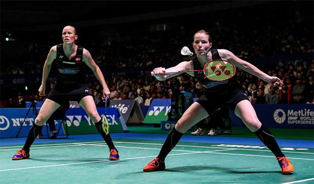 Christinna Pedersen/Kamilla Juhl seek revenge against Ayaka Takahashi/Misaki Matsutomo in Japan Open final. (photo: AP)