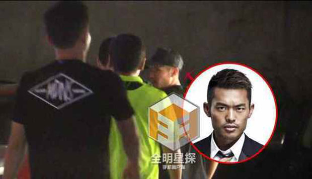 Lin Dan caught peeing in public!
