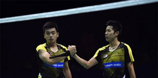 Goh V Shem/Tan Wee Kiong should be more stable on the court. (photo: AFP)