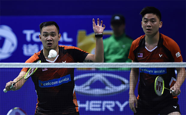 Koo Kien Keat/Tan Boon Heong need to build up their stamina and physical strength in order to compete at the highest level. (photo: AP)