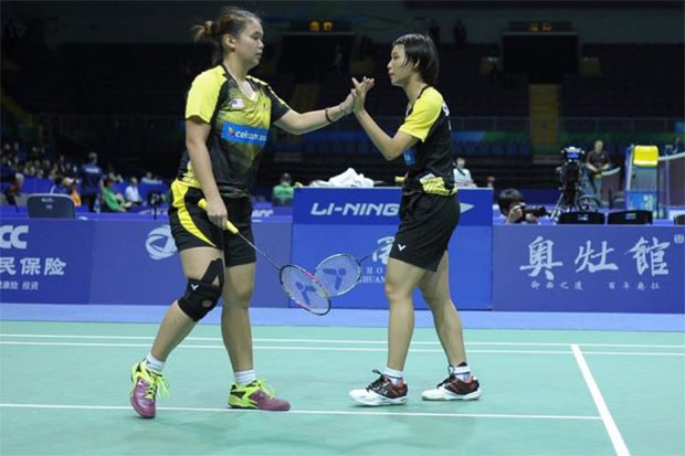 Lee Meng Yean (left) and Chow Mei Kuan are thriving under the 11x5 format.