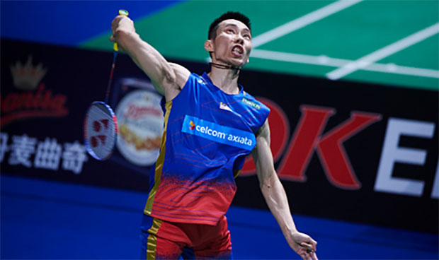 Lee Chong Wei is a top favorite to win Denmark Open. (photo: Lars Ronbog)