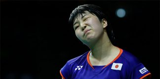 Perhaps Akane Yamaguchi is getting tired after her Denmark Open victory last week. (photo: AP)