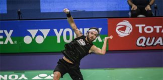 Jan Jorgensen needs to work harder in order to get to the top of the badminton world. (photo: AFP)