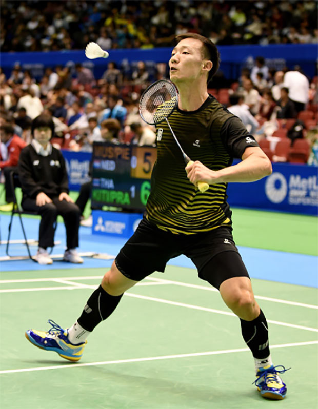 Lee Hyun-Il is a highly disciplined badminton player. (photo: AP)