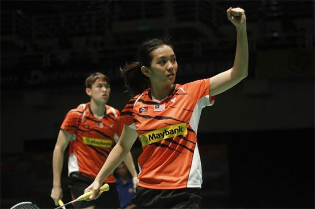 Tan Kian Meng/Lai Pei Jing are hoping to do well at Bitburger Open. (photo: Bernama)