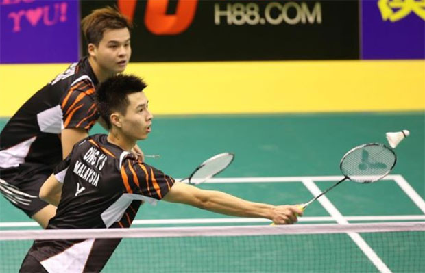 Best of luck to Ong Yew Sin/Teo Ee Yi in the semi-finals of 2016 Bitburger Open. (photo: Bernama)