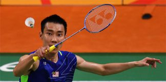 Wishing Lee Chong Wei a speedy recovery and looking forward to having him back soon. (photo: AP)