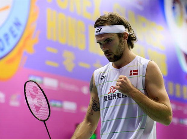 Jan Jorgensen pulls off great escape to reach the 2016 Hong Kong Open quarters. (photo: AP)