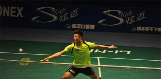 Chen Long plays a very stable and delightful game in China Badminton Super League (CBSL) on Saturday.