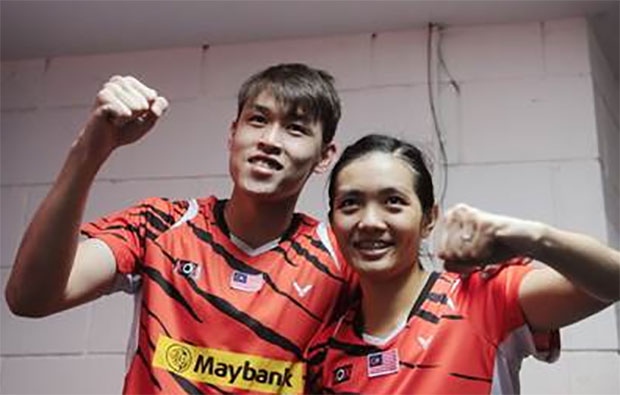Tan Kian Meng/Lai Pei Jing remain confident at Macau Open. (photo: Bernama)