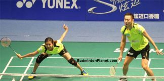 Goh Liu Ying/Zhang Nan form an interesting but certaintly a very strong mixed doubles pair.
