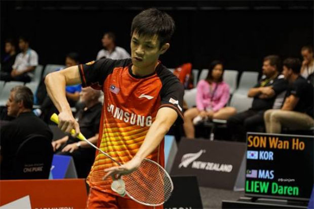 Daren Liew faces an uphill battle to break Son Wan Ho in the 2016 Korea Masters final.