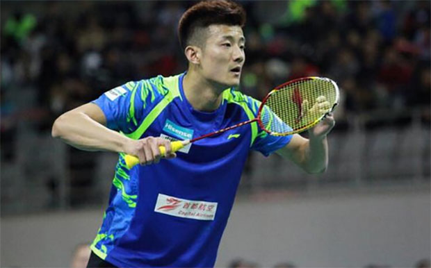 Chen Long plays Shi Yuqi in the China Badminton Super League (CBSL).