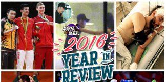 Top 10 biggest badminton moments Of 2016.