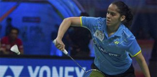 Saina Nehwal still slowly recovering from her knee injury. (photo: PTI)