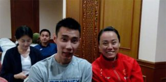 Lee Chong Wei and Zhao Yunlei to team up in Purple League. (photo: PBSI)