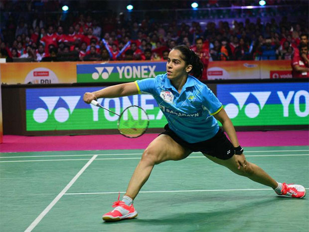 Saina Nehwal is gradually recovering from her knee injury.