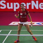 Carolina Marin tops Ashwini Ponnappa in a 3-sets thriller on Saturday.