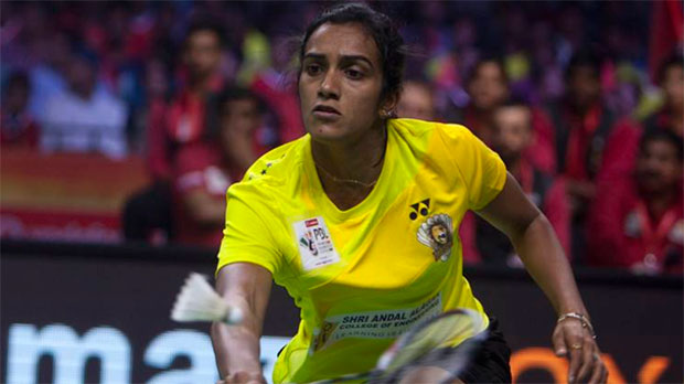 P.V. Sindhu leads Chennai Smashers's bid for its first Premier Badminton League title in the 2017 season. (photo: PTI)