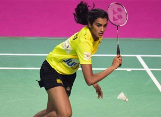 P.V Sindhu has become a real leader at Indian badminton. (photo: PTI)
