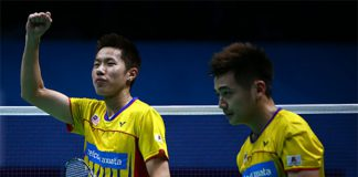 Goh V Shem/Tan Wee Kiong are aiming for better results in bigger tournaments in 2017. (photo: AP)