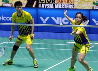 If they continue to play agressively, Goh Soon Huat/Shevon Jemie Lai can definitely win the Malaysia Masters title. (photo: Bernama)