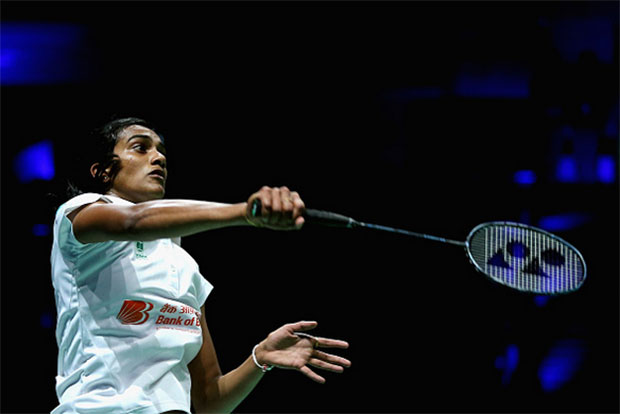 P.V Sindhu is a great role model for female athletes in India. (photo: AP)