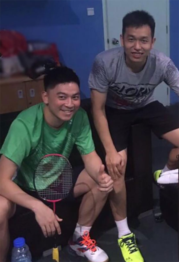 It's going to be interesting to see how Hendra Setiawan/Tan Boon Heong fare against Mathias Boe/Carsten Mogensen. (photo: Tan Boon Heong's Facebook)