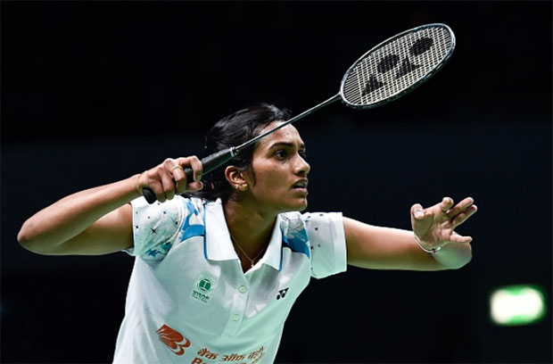 There is a promising badminton future ahead of P.V. Sindhu. (photo: AP)