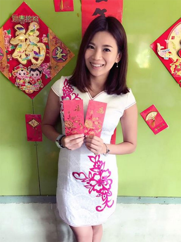 Goh Liu Ying wishes everyone a Happy Chinese New Year. (photo: Goh Liu Ying's Facebook)